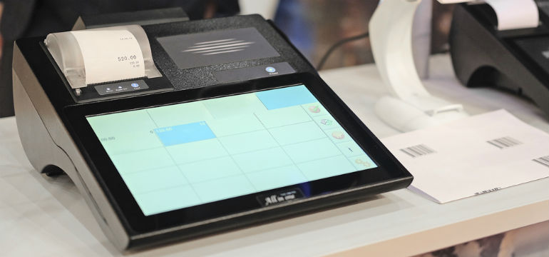 Touchscreen Cash Register - Tactile Cropped